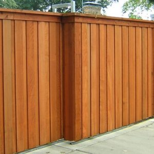 telescopic sliding automated gate